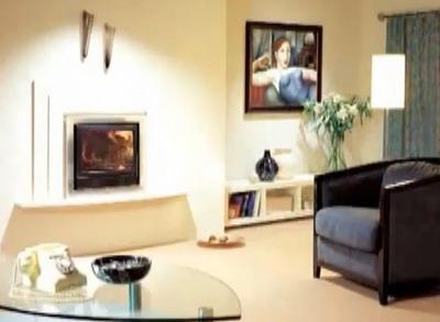 Электрокамин как эффектный элемент интерьера современной квартиры